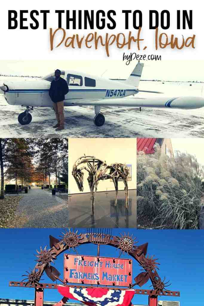 best things to do in davenport iowa collage