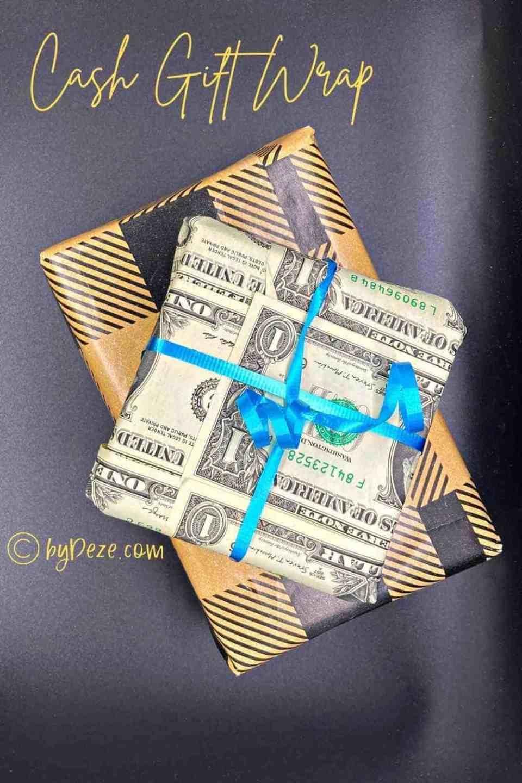 cash gift wrap
