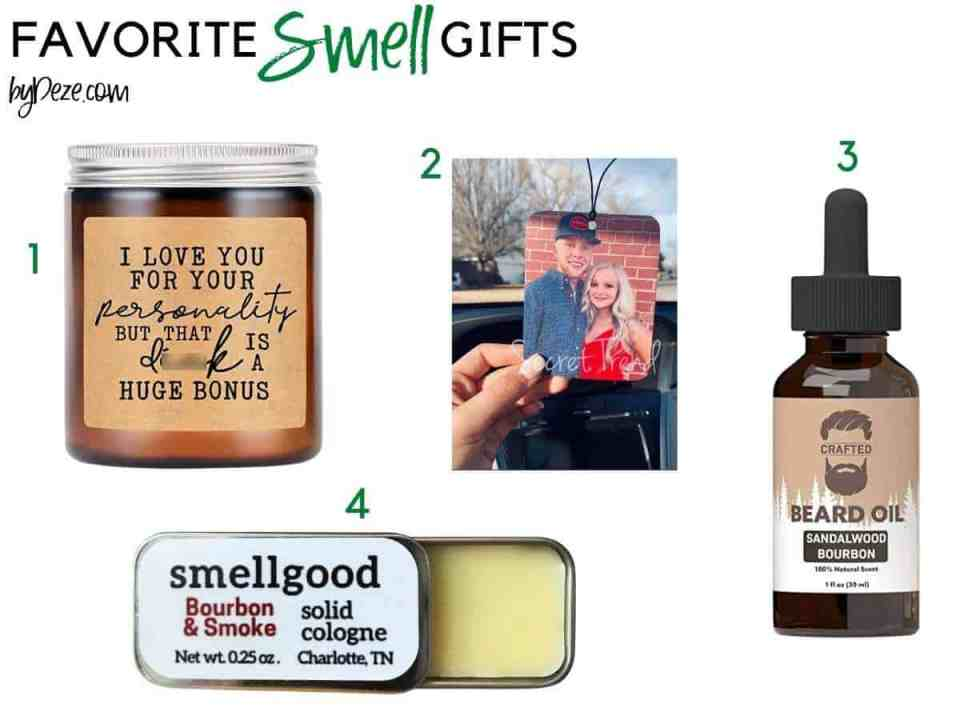 favorite smell gifts for him