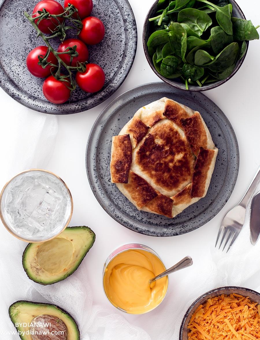 mexikansk mad, mexikanske pandekager, opskrift med tortilla