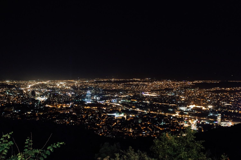 Tbilisi by night, rejse til Georgien