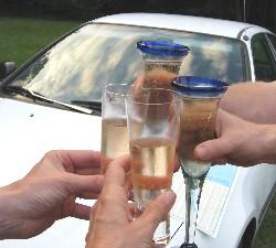 Toast to Diane's Honda Civic