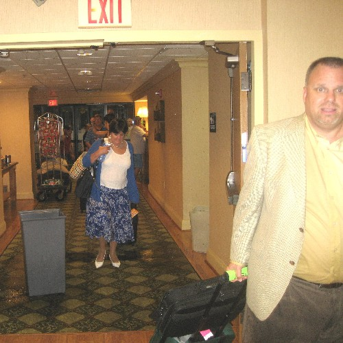 Guest are leaving for dryer grounds
