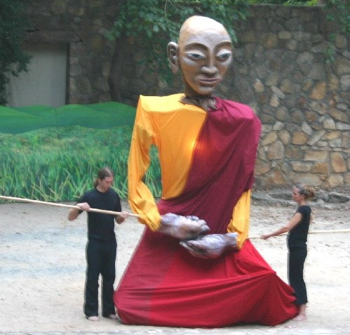 Buddha was the main character on stage in 2006