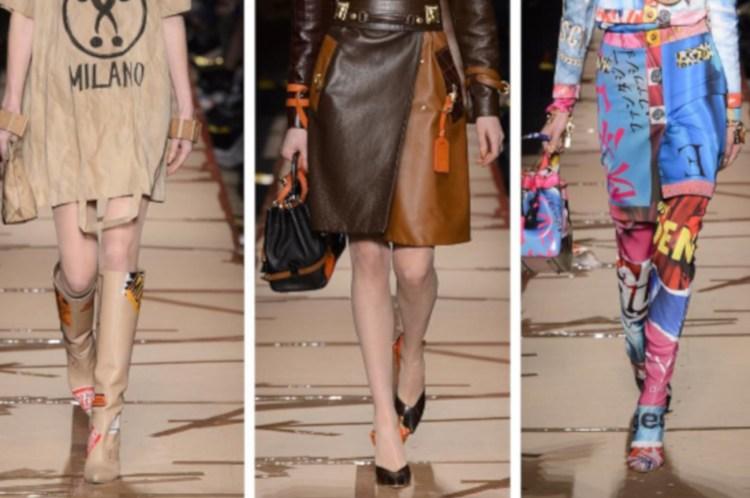les modèles défilent à Paris