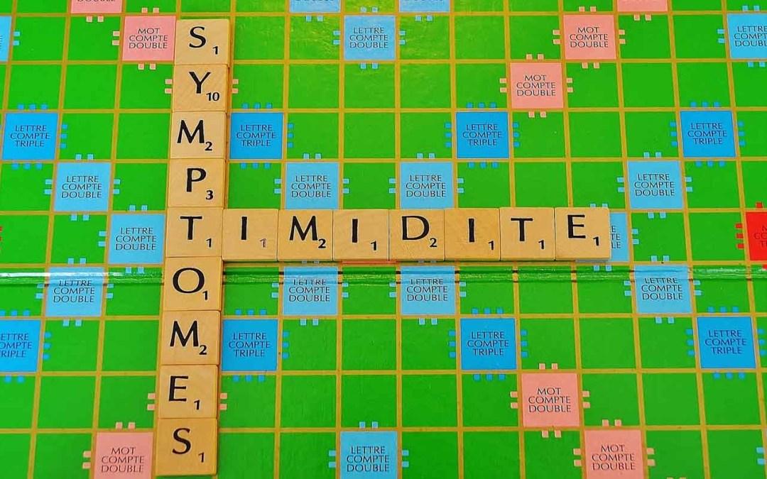 Symptômes de la timidité