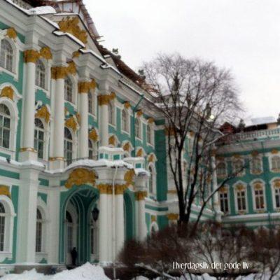 Vinterpalasset i St.Petersburg, gull, masse gull