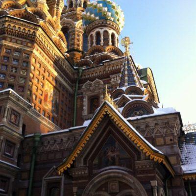 St. Petersburg – den fantastiske Spas Na Krovi- kirken