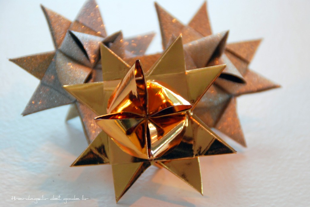 Christmas star - diy
