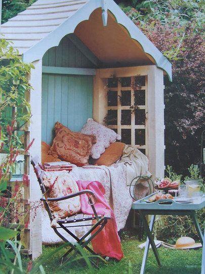 Redskapsbua kan bli en oase i hagen