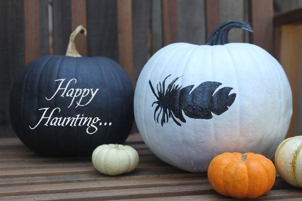 Delikat pynt til Halloween