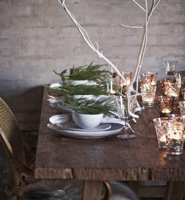 Julepyntede bord – her finner du inspirasjon