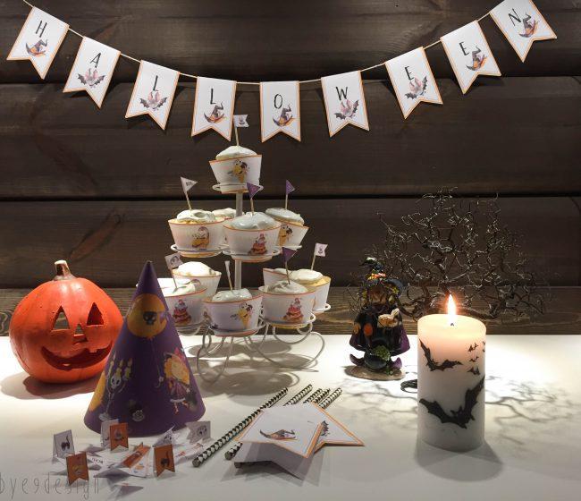 Halloween partypynt - digital design - bye9design printshop