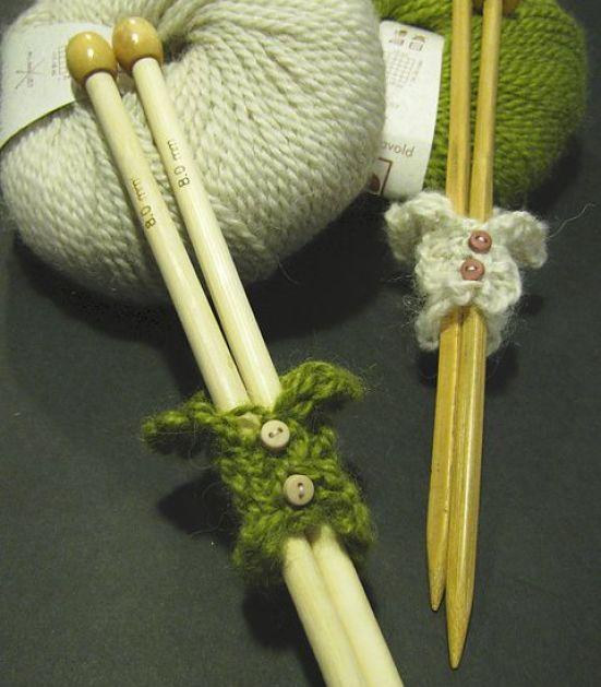 Strikk - oppbevaring av strikkepinner og annet nyttig