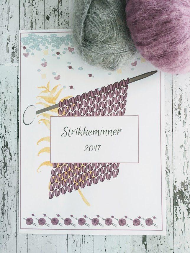 Strikkemappen – for deg som elsker å strikke