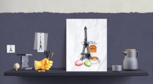 Print på veggen - digitale print - bye9design