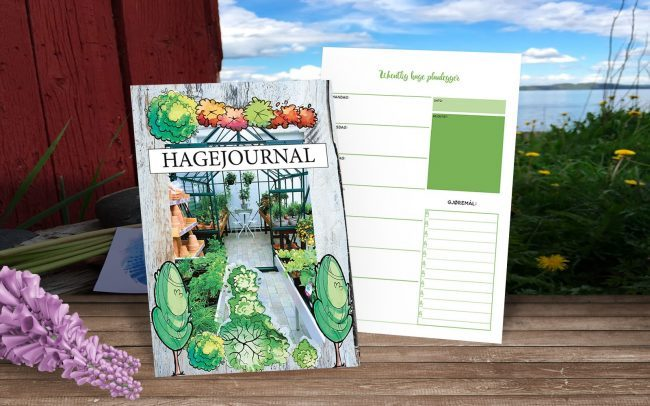 Hagejournalen - for deg som vil at hagesesongen skal vare hele året