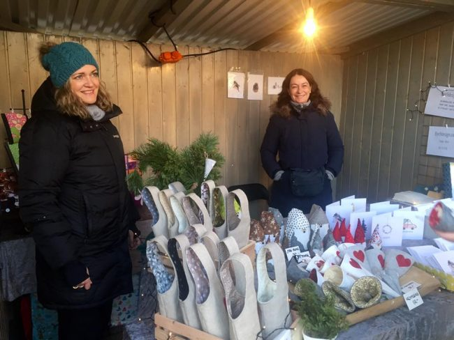 Førjulsmarked og julestemning i trehusbyen Levanger