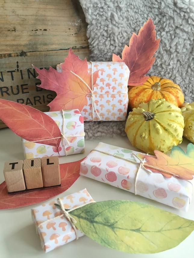 Høstløv i papir kan brukes til utallige hobbyprosjekter