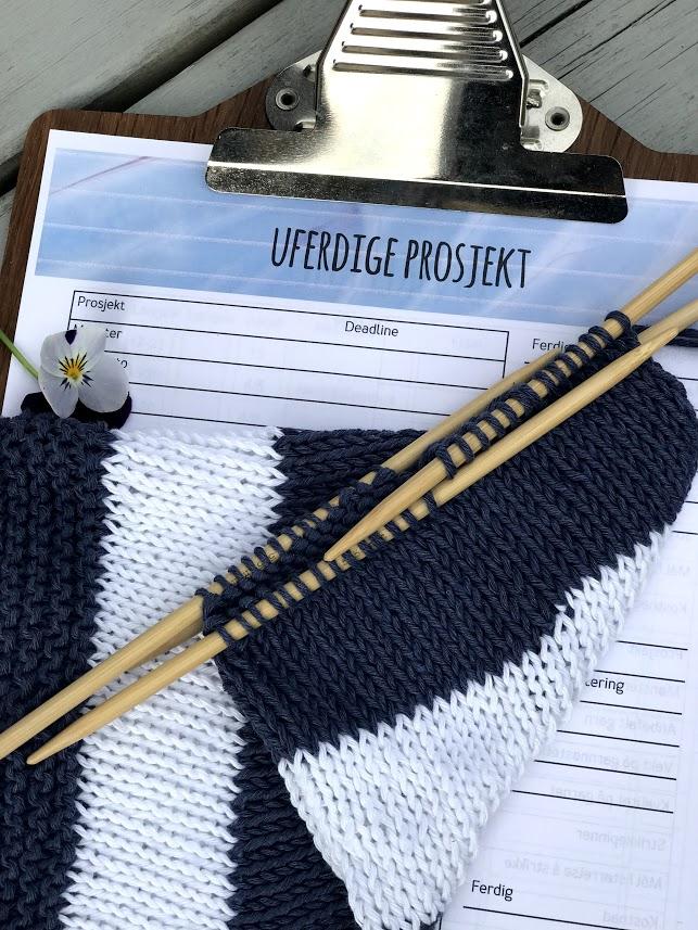 Hobbykasse nr. 6 er fylt med strikkeinspirasjon og litt til