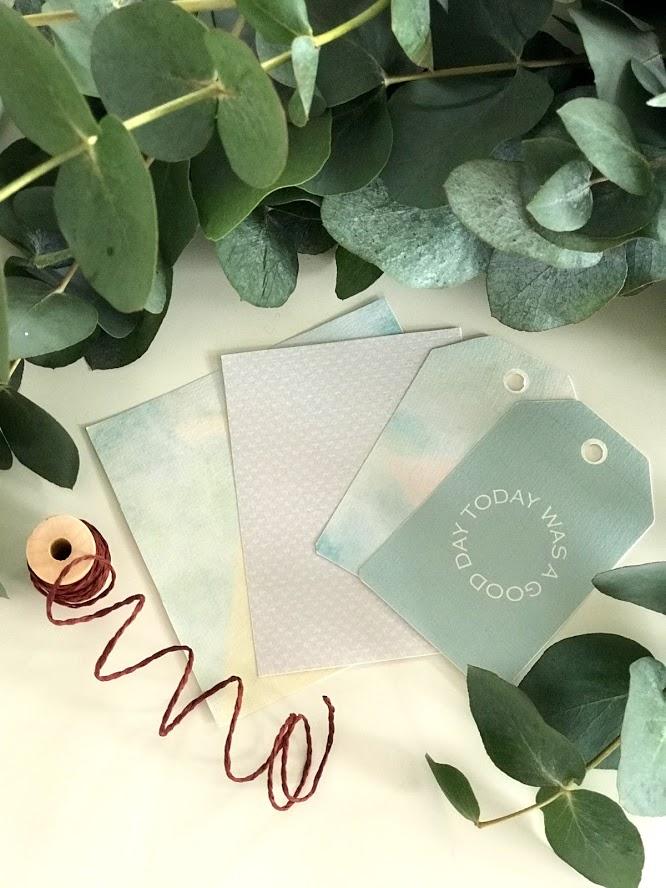 Lag vakre kort selv med deler fra scrappepakker