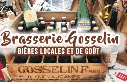 Brasserie Gosselin, des bières de goût et artisanales