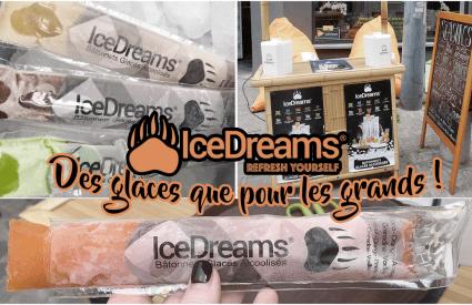 Ice Dreams, des glaces que pour les grands !