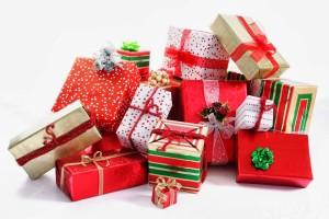 santa presents christmas gifts claus rudolph blitzer