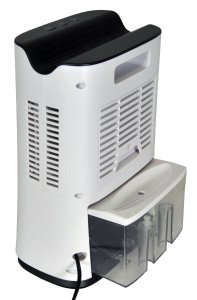 Futura 2L compact dehumidifier review water tank container byemould mould mold damp