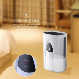 VicTsing 2L dehumidifier byemould uv light tio2 technology