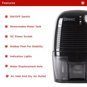 duronic dh05 mini portable compace dehumidifier review byemould manual features instructions peltier