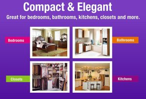 ivation ivadm45 dehumidifier features compact elegant bedroom bathroom closets kitchens