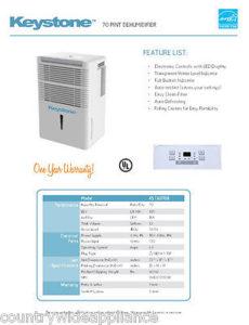 keystone 70 pin dehumidifier review byemould