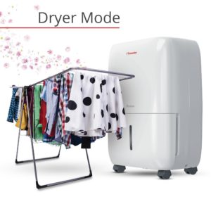 inventor 20l dehumidifier laundry mode dryer drying clothes laundry inside