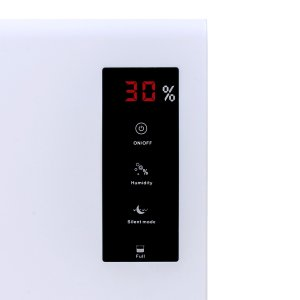 Pro Breeze 3000ml dehumidifier control panel led display screen humidity