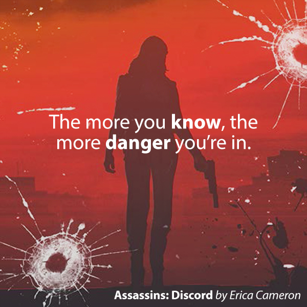 Assassins: Discord | Books by Erica Cameron