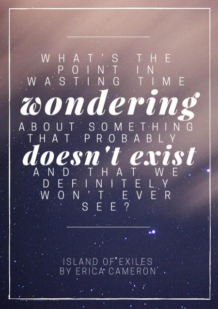 IslandOfExiles-WeWontEverSeeIt