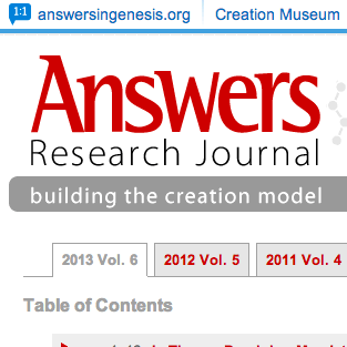 Stanley Fish Paper Published in Answers Research Journal