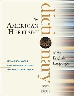 American Heritage Dictionary AHD