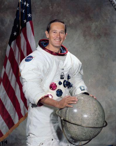 Astronaut Charlie Duke