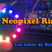 Bibliothèque neopixel avec un esp8266