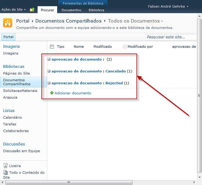 """O erro """"'g_ExpGroupXSLTQueue' is undefined"""" é exibido em páginas SharePoint 2010"""