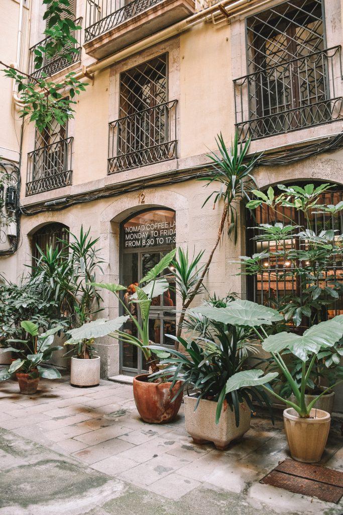 Straatje Barcelona