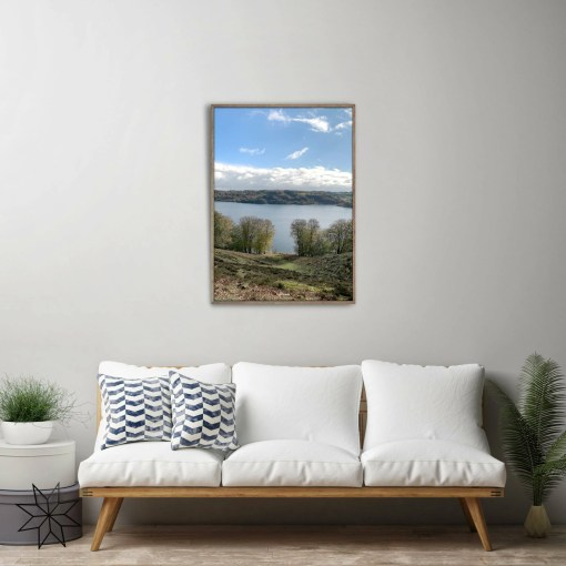 Lake view photo art plakat