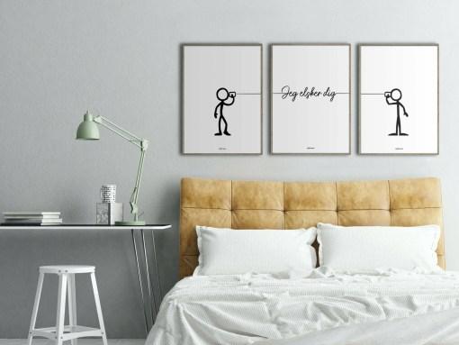 Kærlighed MM over seng