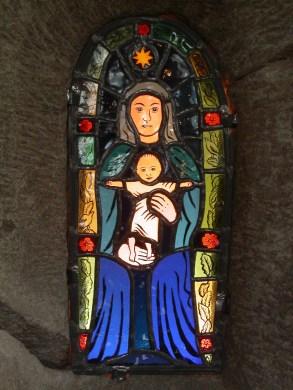 Maria i rosengård.