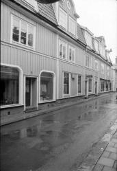Fasaden mot Norra Storgatan