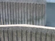 Räcke av formgjuten betong