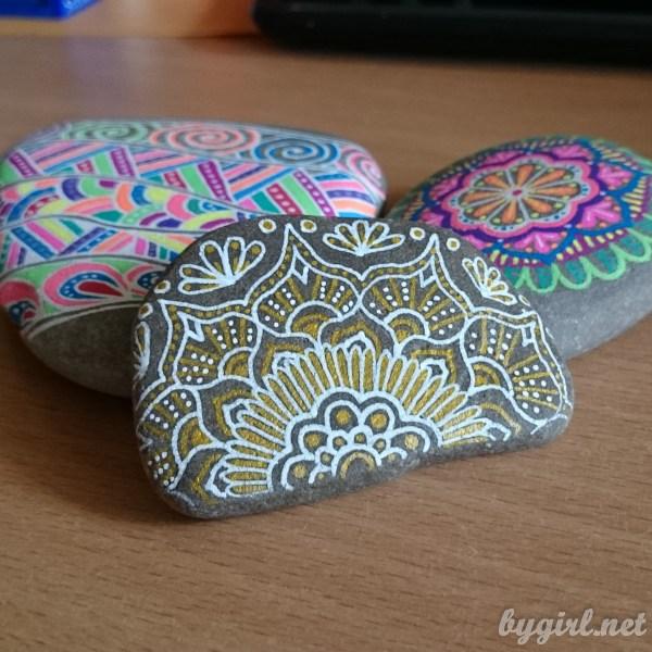 Разрисованный камень