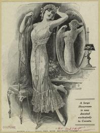1910 underwear ad